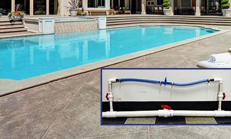 Pool And Pipe Attachment